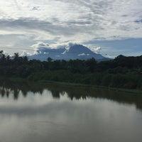 Photo taken at Pekan Tuaran by ahmad h. on 7/29/2016