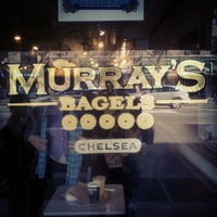 Photo taken at Murray's Bagels by Murray S. on 11/22/2012