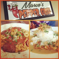 Photo taken at Marco's Pepper Grill by Joseph L. on 3/17/2013
