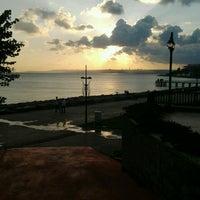 Photo taken at Florya Sahili by Şura B. on 7/18/2013