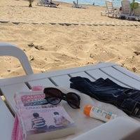 Photo taken at BOTAŞ Plajı by Elif B. on 7/5/2013
