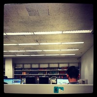 Photo taken at Cohen Library - NAC Building CCNY by Lai P. on 12/5/2013
