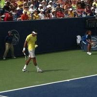 Photo prise au Western & Southern Tennis Media Center par William H. le8/15/2013