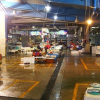 Photo taken at Seafood Auction Market by 이창섭 on 7/10/2013