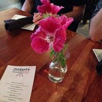 Photo taken at Modesto by Deanna M. on 6/6/2014