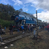 Photo taken at Železniční stanice Lužná u Rakovníka by Michal Z. on 10/7/2017