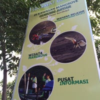 Photo taken at Wisata Anyar Mangrove (WAM) by Andri R. on 5/10/2014
