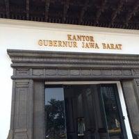 Photo taken at Kantor Gubernur Jawa Barat by Andri R. on 10/6/2015