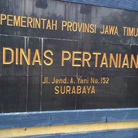 Photo taken at Dinas Pertanian Provinsi Jawa Timur by Andri R. on 12/24/2013