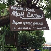 Photo taken at Ayam Goreng Jawa Muji Lestari by Andri R. on 1/8/2014