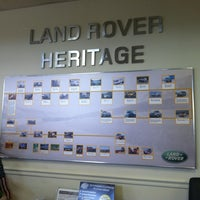 Photo taken at Land Rover Hunt Valley by Msprity .. on 4/27/2012