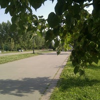 Photo taken at Сквер им. Кирова by shikate on 7/5/2012