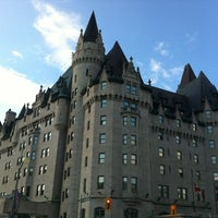Photo taken at Fairmont Château Laurier by Kusnadi S. on 8/22/2012
