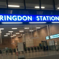 Photo taken at Farringdon London Underground Station by warren g. on 7/25/2012