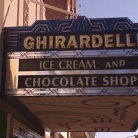 Photo taken at Ghirardelli Ice Cream & Chocolate Shop by Robert R. on 10/15/2011