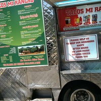 Photo taken at Tacos Mi Rancho by Mike G. on 5/9/2012
