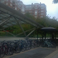 Photo taken at Woodley Park-Zoo/Adams Morgan Metro Station by Anna J. on 9/21/2011