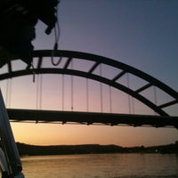 Photo taken at 360 Bridge (Pennybacker Bridge) by Whitney B. on 8/4/2011