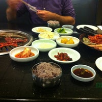 Photo taken at Palace Korean Bar & Grill by Melissa F. on 9/11/2012