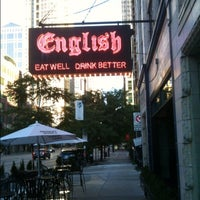 Photo taken at English Bar & Restaurant by George M. on 6/26/2012
