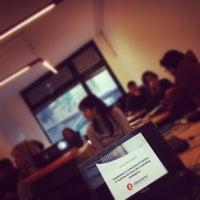 Photo taken at Aula Informatica Per Formazione Aziendale by Margherita P. on 2/17/2012
