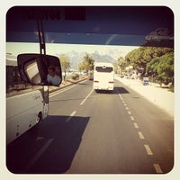 Photo taken at Antalya - Kemer Yolu by Oğuzhan K. on 7/3/2012