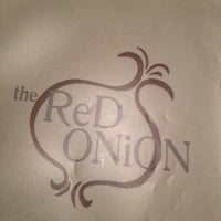 Photo taken at The Red Onion by Tony P. on 2/18/2012