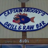 Photo taken at Captain Groovy's Grill and Raw Bar by Joey W. on 2/20/2011