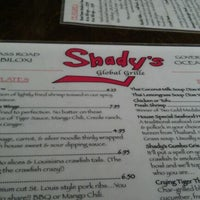 Photo taken at Shady's Global Cuisine by Andy H. on 2/10/2012