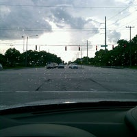 Photo taken at Military Trail & Linton Blvd by Flutterby M. on 9/5/2011