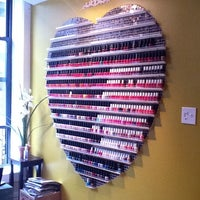 Photo taken at Kinzie Nail Spa by Brigitte C. on 5/1/2011