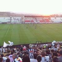 Photo taken at Estádio Joaquim Henrique Nogueira (Arena do Jacaré) by Leonardo O. on 9/3/2011