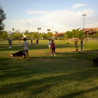 Photo taken at Chaparral Dog Park by Aquarian Media Group on 5/11/2012