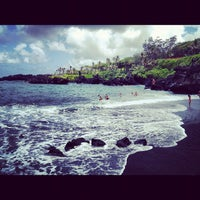 Photo taken at Waianapanapa State Park by Mike L. on 8/2/2012