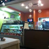 Photo taken at Mazah Mediterranean Eatery by Deanna B. on 12/30/2010