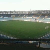 Photo taken at Estadio Monumental de Maturín by Richard V. on 3/29/2012