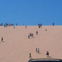 Photo taken at Dune Climb - Sleeping Bear Dunes by Laura C. on 8/11/2012