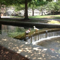 Photo taken at Big Spring Park by Heather S. on 5/24/2012