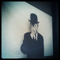 Photo taken at Magritte Museum by Axi C. on 11/4/2011