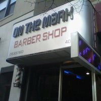 Photo taken at On The Mark Barbershop by Matthew D. on 11/28/2011