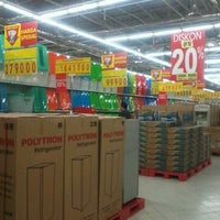 Photo taken at Carrefour by Bambang S. on 2/19/2012