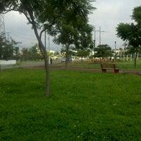 Photo taken at Parque Central Parques del Bosque by Fernando L. on 8/31/2012