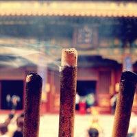 Photo taken at Yonghegong Lama Temple by Herbert Y. on 6/1/2012