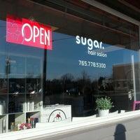 Photo taken at Sugar Salon by Jen T. on 3/9/2012