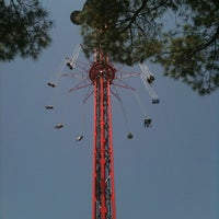 Photo taken at Parque de Atracciones de Madrid by Ana on 7/26/2012