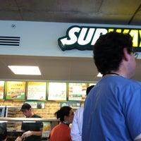 Photo taken at Subway by Brandi E. on 4/19/2012