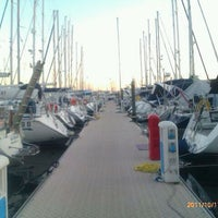 Photo taken at Marina Sant'Andrea by Gabriele D. on 10/17/2011