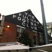 Photo taken at Craven Cottage by Colin C. on 12/29/2010