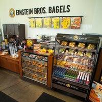 Photo taken at Einstein Bros Bagels by University of South Florida on 9/29/2011