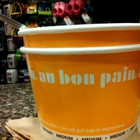 Photo taken at Au Bon Pain by Anthony S. on 11/7/2011